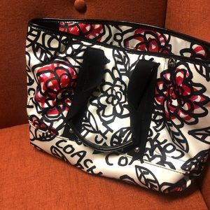 Authentic Coach Poppy Tote Bag